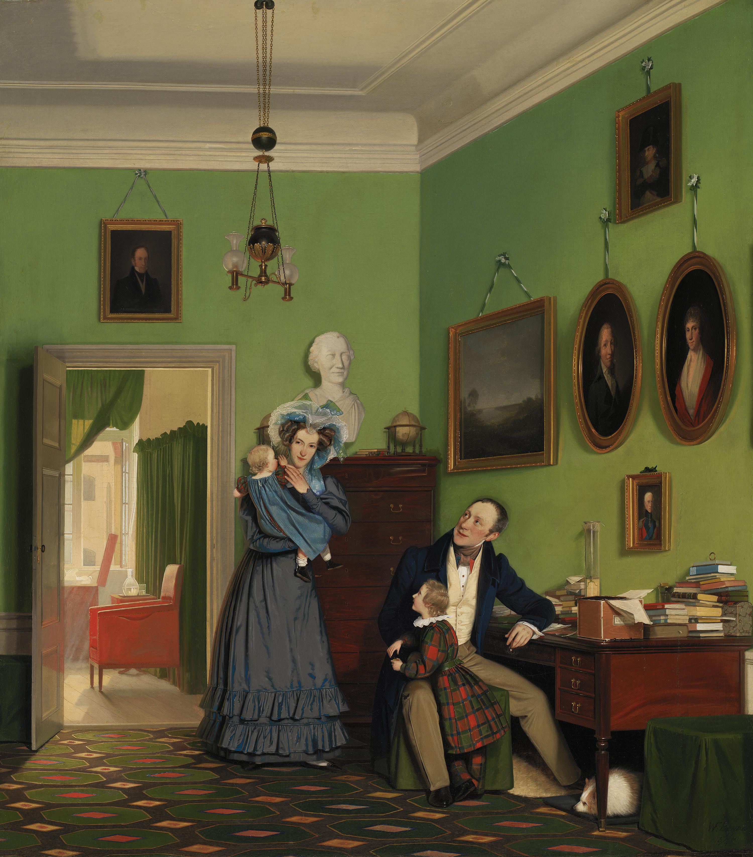 Familien Waagepetersen, 1830 | SMK - Statens Museum for Kunst